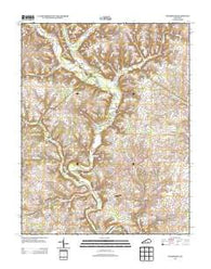 Woodstock Kentucky Historical topographic map, 1:24000 scale, 7.5 X 7.5 Minute, Year 2013