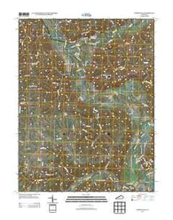 Worthville Kentucky Historical topographic map, 1:24000 scale, 7.5 X 7.5 Minute, Year 2013