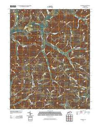 Yosemite Kentucky Historical topographic map, 1:24000 scale, 7.5 X 7.5 Minute, Year 2010