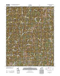 Zachariah Kentucky Historical topographic map, 1:24000 scale, 7.5 X 7.5 Minute, Year 2013