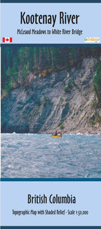 Purchase Clip of canoe map from British Columbia Maps Store