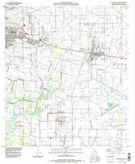 Abbeville East Louisiana Historical topographic map, 1:24000 scale, 7.5 X 7.5 Minute, Year 1994