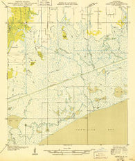 Abbeville SE Louisiana Historical topographic map, 1:31680 scale, 7.5 X 7.5 Minute, Year 1932