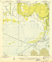 Abbeville SW Louisiana Historical topographic map, 1:31680 scale, 7.5 X 7.5 Minute, Year 1932
