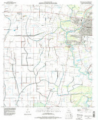 Abbeville West Louisiana Historical topographic map, 1:24000 scale, 7.5 X 7.5 Minute, Year 1994