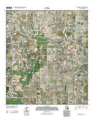 Abbeville East Louisiana Historical topographic map, 1:24000 scale, 7.5 X 7.5 Minute, Year 2012