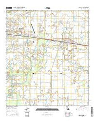 Abbeville East Louisiana Current topographic map, 1:24000 scale, 7.5 X 7.5 Minute, Year 2015