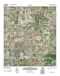 Abbeville West Louisiana Historical topographic map, 1:24000 scale, 7.5 X 7.5 Minute, Year 2012
