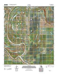 Acme Louisiana Historical topographic map, 1:24000 scale, 7.5 X 7.5 Minute, Year 2012