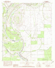 Acme Louisiana Historical topographic map, 1:24000 scale, 7.5 X 7.5 Minute, Year 1982