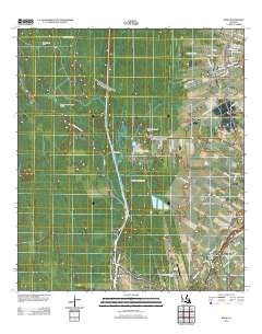 Addis Louisiana Historical topographic map, 1:24000 scale, 7.5 X 7.5 Minute, Year 2012