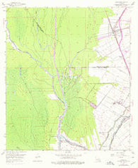 Addis Louisiana Historical topographic map, 1:24000 scale, 7.5 X 7.5 Minute, Year 1953