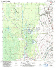 Addis Louisiana Historical topographic map, 1:24000 scale, 7.5 X 7.5 Minute, Year 1992