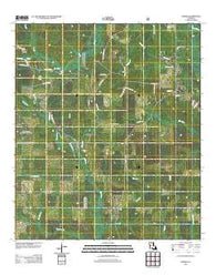 Afeman Louisiana Historical topographic map, 1:24000 scale, 7.5 X 7.5 Minute, Year 2012