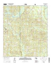 Afeman Louisiana Current topographic map, 1:24000 scale, 7.5 X 7.5 Minute, Year 2015 from Louisiana Maps Store
