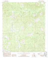 Aimwell Louisiana Historical topographic map, 1:24000 scale, 7.5 X 7.5 Minute, Year 1984