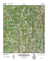 Albany Louisiana Historical topographic map, 1:24000 scale, 7.5 X 7.5 Minute, Year 2012