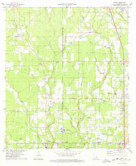 Albany Louisiana Historical topographic map, 1:24000 scale, 7.5 X 7.5 Minute, Year 1974