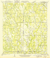 Albany Louisiana Historical topographic map, 1:31680 scale, 7.5 X 7.5 Minute, Year 1949