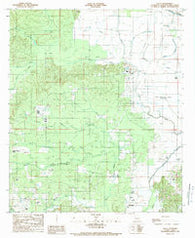 Allen Louisiana Historical topographic map, 1:24000 scale, 7.5 X 7.5 Minute, Year 1989