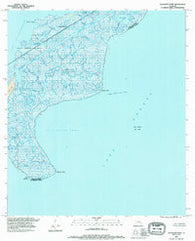 Alligator Point Louisiana Historical topographic map, 1:24000 scale, 7.5 X 7.5 Minute, Year 1994
