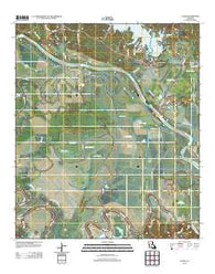 Aloha Louisiana Historical topographic map, 1:24000 scale, 7.5 X 7.5 Minute, Year 2012