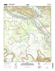 Aloha Louisiana Current topographic map, 1:24000 scale, 7.5 X 7.5 Minute, Year 2015