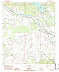 Aloha Louisiana Historical topographic map, 1:24000 scale, 7.5 X 7.5 Minute, Year 1983