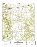 Basile Louisiana Current topographic map, 1:24000 scale, 7.5 X 7.5 Minute, Year 2015 from Louisiana Map Store