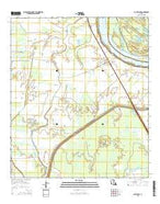 Batchelor Louisiana Current topographic map, 1:24000 scale, 7.5 X 7.5 Minute, Year 2015 from Louisiana Map Store