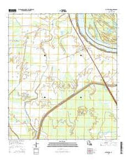 Batchelor Louisiana Current topographic map, 1:24000 scale, 7.5 X 7.5 Minute, Year 2015 from Louisiana Maps Store