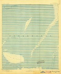 Bayou De Large Louisiana Historical topographic map, 1:62500 scale, 15 X 15 Minute, Year 1894