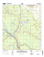 Bayou Sorrel Louisiana Current topographic map, 1:24000 scale, 7.5 X 7.5 Minute, Year 2015 from Louisiana Map Store