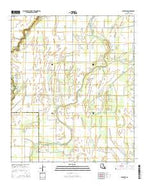 Bear Skin Louisiana Current topographic map, 1:24000 scale, 7.5 X 7.5 Minute, Year 2015 from Louisiana Map Store