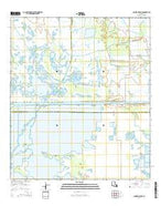 Cameron Farms Louisiana Current topographic map, 1:24000 scale, 7.5 X 7.5 Minute, Year 2015 from Louisiana Map Store