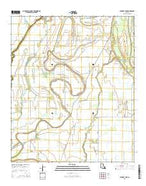 Caraway Lake Louisiana Current topographic map, 1:24000 scale, 7.5 X 7.5 Minute, Year 2015 from Louisiana Map Store