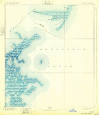 Cat Island Mississippi Historical topographic map, 1:62500 scale, 15 X 15 Minute, Year 1893