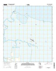 Catfish Lake Louisiana Current topographic map, 1:24000 scale, 7.5 X 7.5 Minute, Year 2015 from Louisiana Maps Store