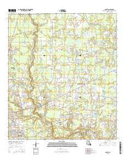 Comite Louisiana Current topographic map, 1:24000 scale, 7.5 X 7.5 Minute, Year 2015 from Louisiana Maps Store