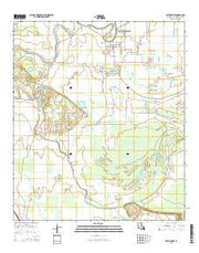 Cottonport Louisiana Current topographic map, 1:24000 scale, 7.5 X 7.5 Minute, Year 2015 from Louisiana Maps Store