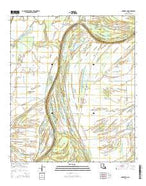 Dunbarton Louisiana Current topographic map, 1:24000 scale, 7.5 X 7.5 Minute, Year 2015 from Louisiana Map Store