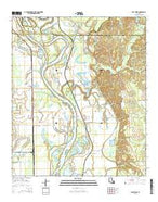East Point Louisiana Current topographic map, 1:24000 scale, 7.5 X 7.5 Minute, Year 2015 from Louisiana Map Store