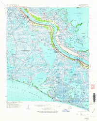 Empire Louisiana Historical topographic map, 1:62500 scale, 15 X 15 Minute, Year 1960