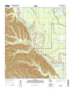 Enterprise Louisiana Current topographic map, 1:24000 scale, 7.5 X 7.5 Minute, Year 2015 from Louisiana Map Store
