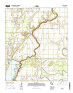 Epps Louisiana Current topographic map, 1:24000 scale, 7.5 X 7.5 Minute, Year 2015 from Louisiana Map Store