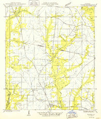 Folsom Louisiana Historical topographic map, 1:31680 scale, 7.5 X 7.5 Minute, Year 1950
