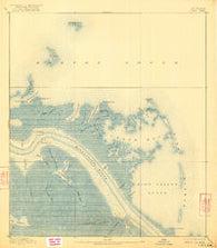 Forts Louisiana Historical topographic map, 1:62500 scale, 15 X 15 Minute, Year 1893