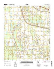 Fortune Fork Louisiana Current topographic map, 1:24000 scale, 7.5 X 7.5 Minute, Year 2015 from Louisiana Maps Store