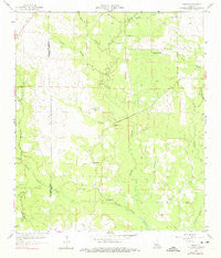 Grant Louisiana Historical topographic map, 1:24000 scale, 7.5 X 7.5 Minute, Year 1959