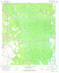 Haaswood Louisiana Historical topographic map, 1:24000 scale, 7.5 X 7.5 Minute, Year 1959